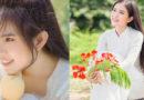 Cô gái Đồng Tháp gieo thương nhớ với vẻ đẹp ngọt lịm