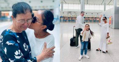 Đoan Trang cùng chồng con chính thức qua Singapore định cư, tạm thời rời khỏi showbiz Việt