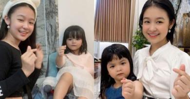 Hoa khôi nhí Cần Thơ thân thiết cùng con gái bà ƚɾùɱ hoa hậu, thừa nhận định thi nhan sắc
